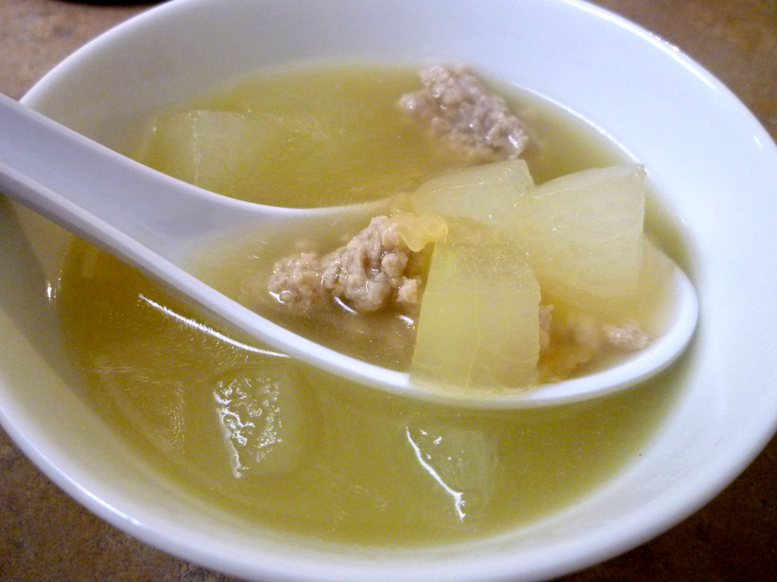 and sausage soup for a cold winter s night the melon ball melon sorbet ...